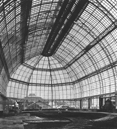 Historische Ansicht des Großen Tropenhauses um 1905 © Botanischer Garten und Botanisches Museum Berlin