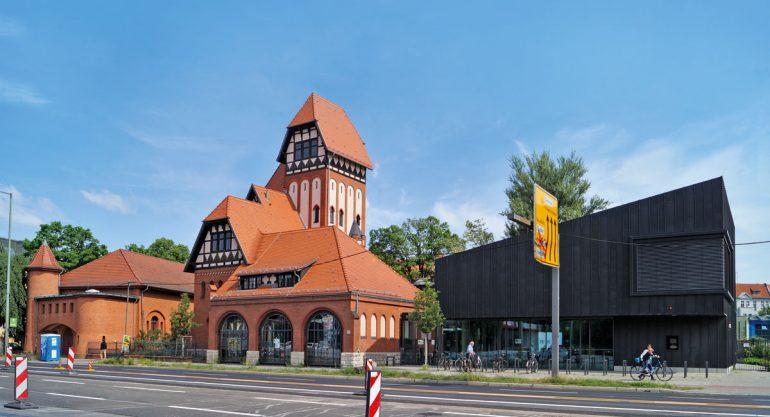Berliner Bibliotheken Treptow Straßenfront