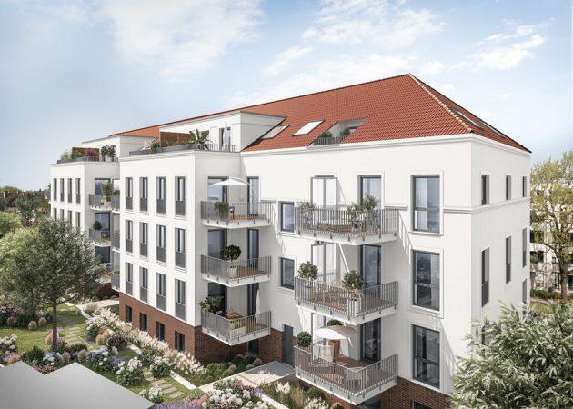 KARL IM GLÜCK: Moderner KfW-55-Neubau in begehrter Lage in Berlin-Lichtenberg (Karlshorst) © PROJECT Immobilien Wohnen AG
