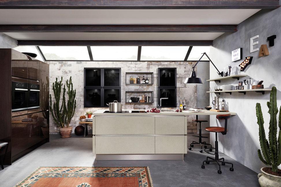 Treffpunkt-Wohnkueche-2 Der schönste Treffpunkt zuhause ist die Wohnküche