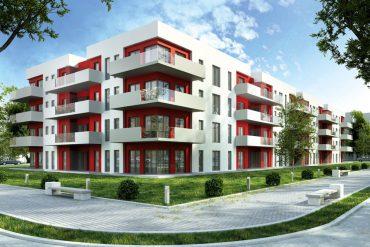 Wohnungskauf-Wohnhaus-Visualisierung