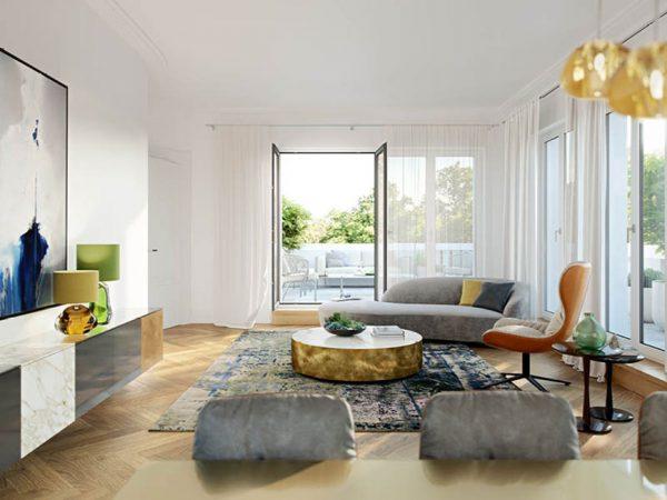Les Deux • Luxuriöse Innenarchitektur © Ziegert – Bank- und Immobilienconsulting GmbH