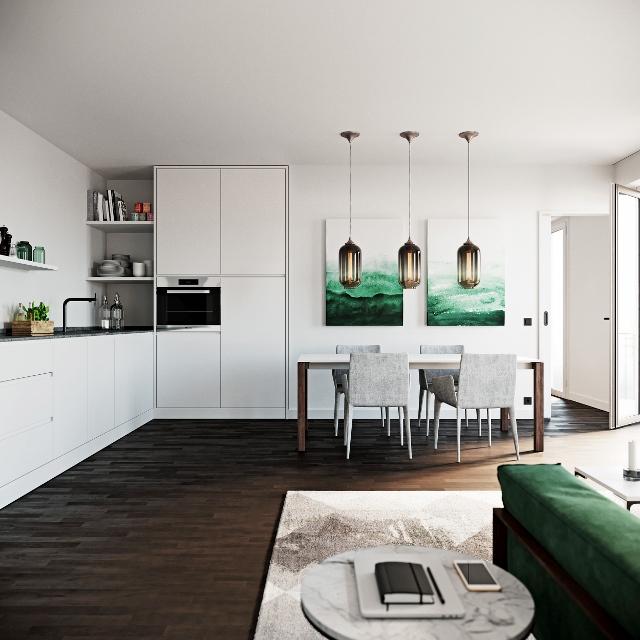 ein Blick auf die Küche © Ziegert EverEstate GmbH