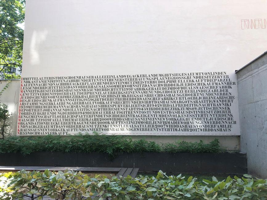 David-Borck-Wandgemaelde Wandgemälde in der Schönhauser Allee 55 entsteht neu