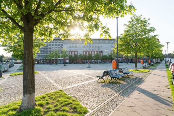 Hugenottenplatz © PROJECT Immobilien Wohnen AG