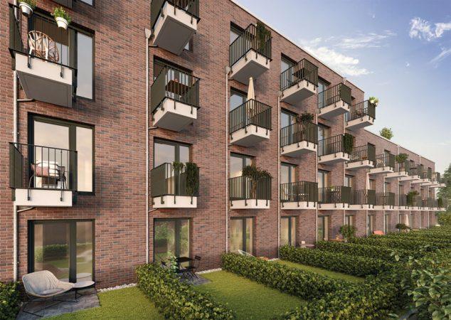 Studio Living Potsdam P.1 • Balkone © PROJECT Immobilien Wohnen AG
