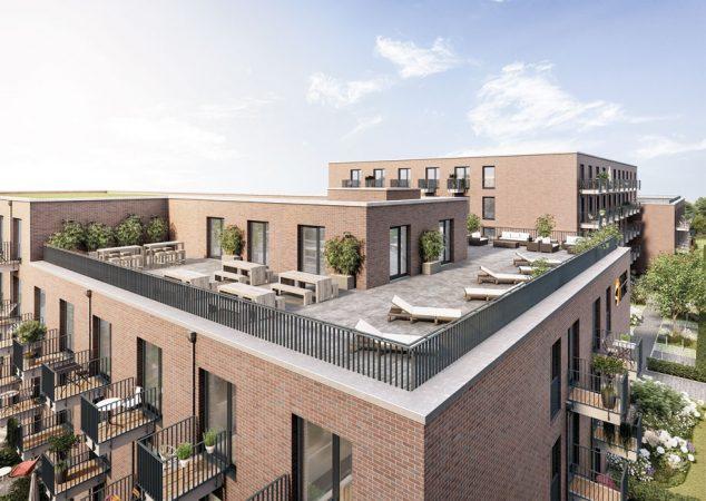 Studio Living Potsdam P.1 © PROJECT Immobilien Wohnen AG