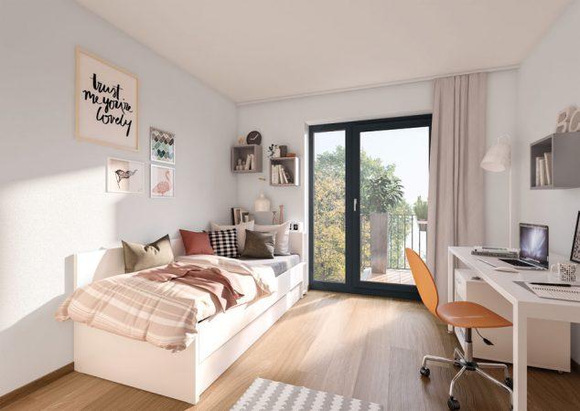 Studio Living Potsdam P.1 • Innen © PROJECT Immobilien Wohnen AG