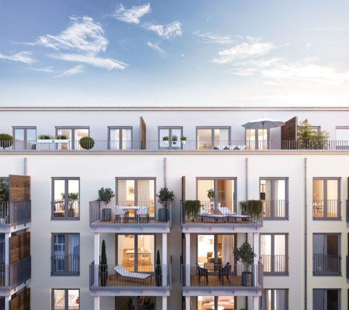 herz BERLIN © PROJECT Immobilien Wohnen AG