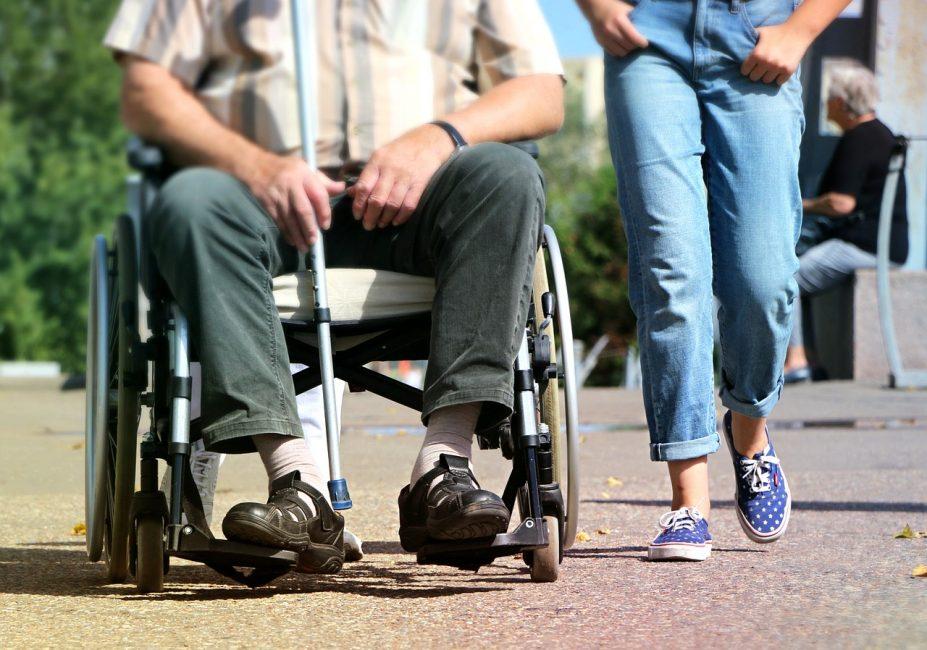 Rollstuhl Eigentümergemeinschaft