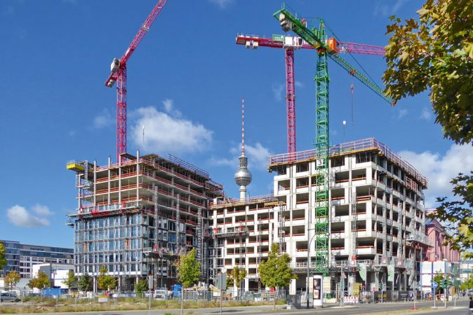 Bautenstand Oktober 2018 © GRANDAIRE Berlin