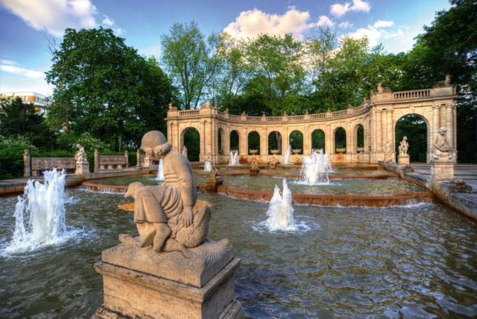 Der Märchenbrunnen im Volkspark Friedrichshain © Thomas Otto / Fotolia.de