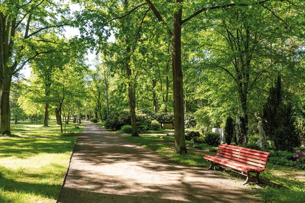 Nikolassee-Park Nikolassee : Großstadtleben zwischen  altem Baumbestand und Seen