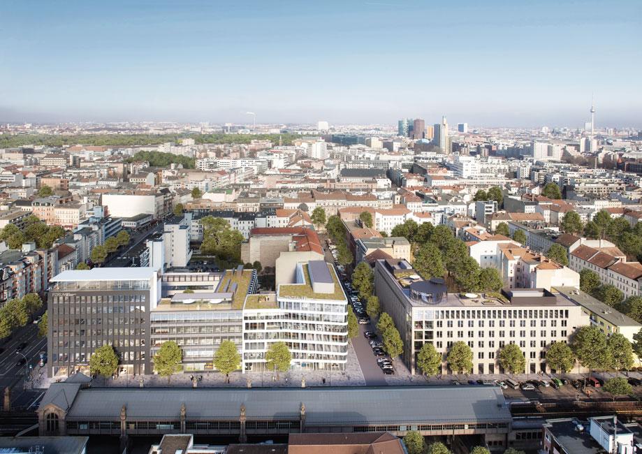 """PecanDevelopment-vonoben Pecan Development legt Grundstein für neues Bürogebäude ZENTRALE """"Im Wirtschaftswunder"""""""