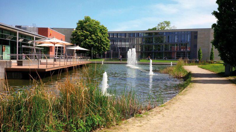 Das Hasso-Plattner-Institut für Digital Engineering ist eine Fakultät der Universität Potsdam. © Stephan Schultz / flickr.de CC BY 2.0