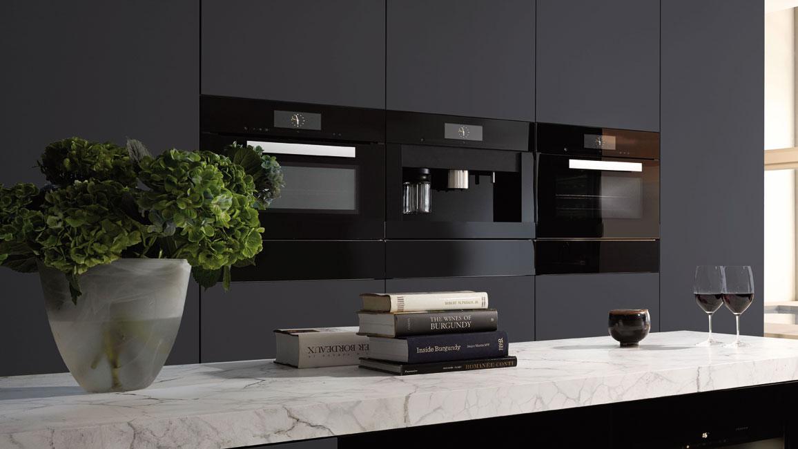 Küche-2019_Foto-6-Farbtrends-Hausgeraete Küche 2019:  Hightech-Zentrale mit Seele