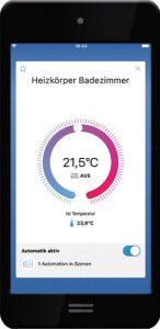 Neun-Gruende-02_Rademacher_Heizkörper_Smartphone_Detail-146x300 Neun Gründe für ein  Smart Home