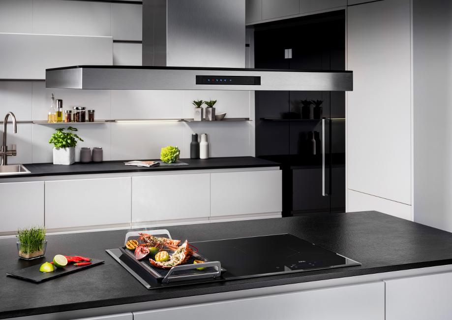 Kueche_Foto-2-1 Das richtige Dunstabzugssystem  für Wohnküchen