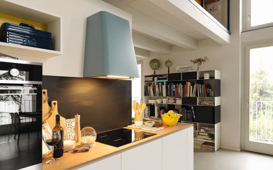 Kueche_Foto-7-1 Das richtige Dunstabzugssystem  für Wohnküchen