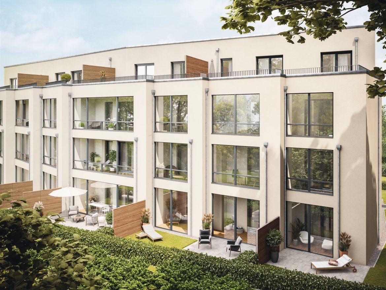 Rückansicht © PROJECT Immobilien Wohnen AG