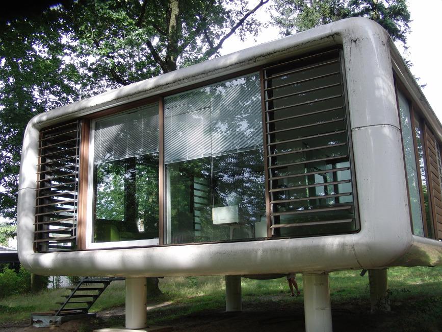 Haus-am-Waldsee_Loftcube-W.Aisslinger Landhaus und Wohnbox
