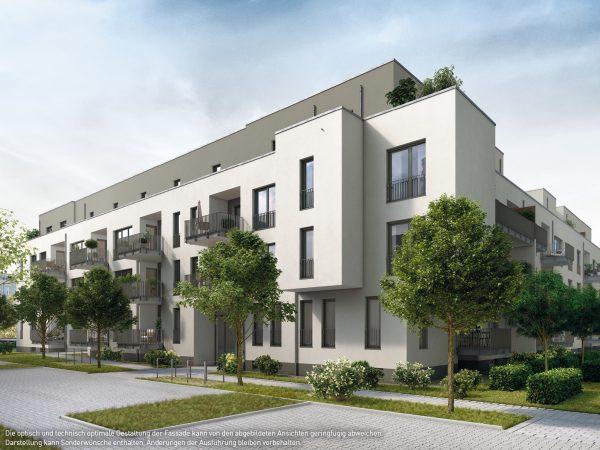 Eingangsbereich © PROJECT Immobilien Wohnen AG