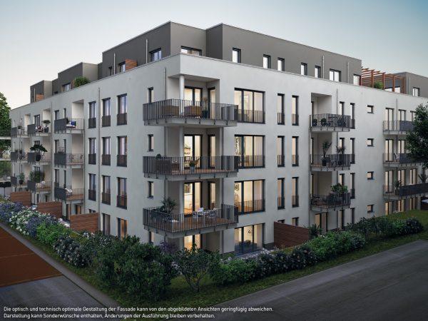 Außenansicht © PROJECT Immobilien Wohnen AG