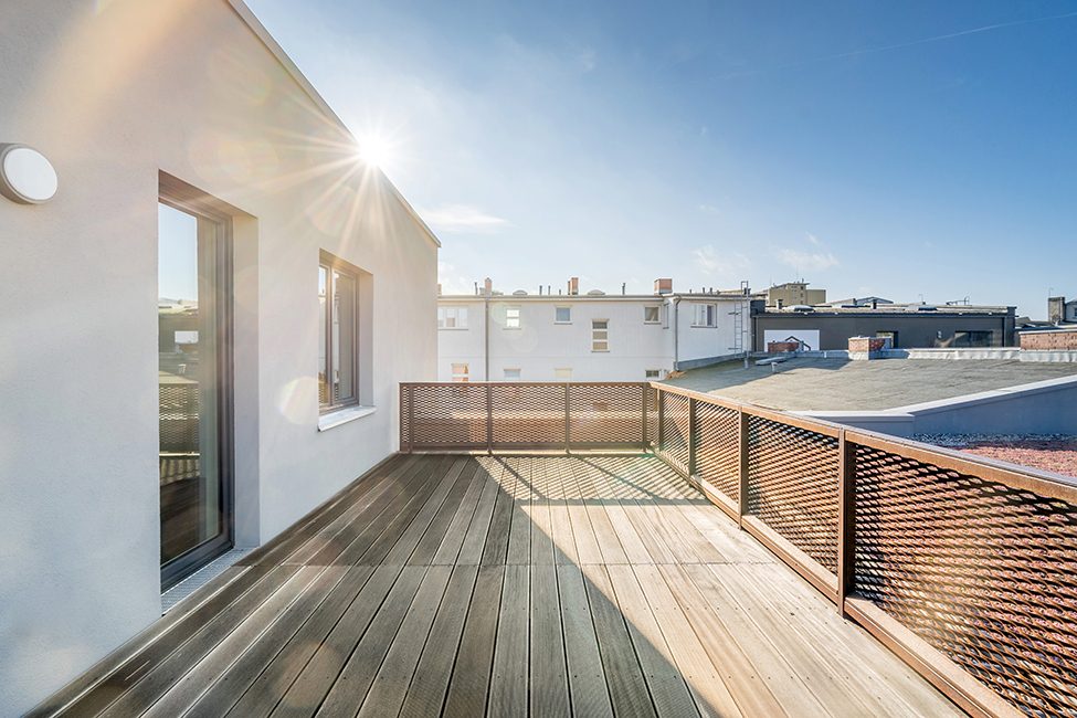 Safe & Sound • Penthouse Dachterrasse © Ivo Gretener