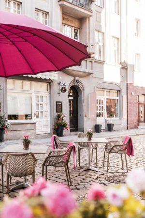 Kaffee in der Altstadt © PROJECT Immobilien Wohnen AG