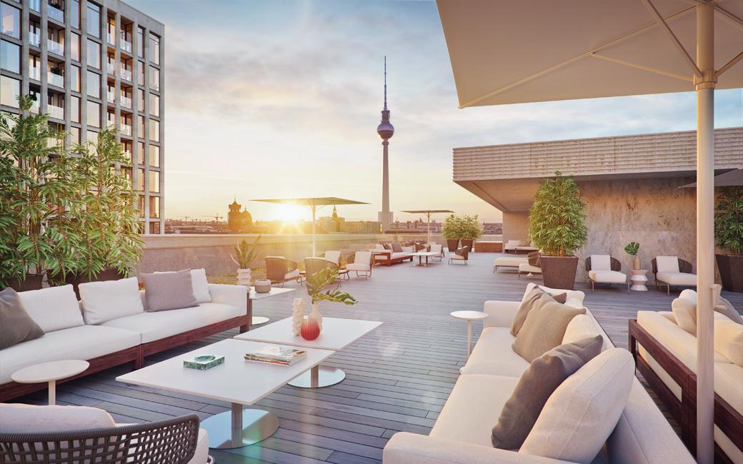 Sonderthema_Penthouse_Lofts_GRANDAIRE-Dachterrasse-Kiezbericht Wohnimmobilien der Extraklasse in Berlin
