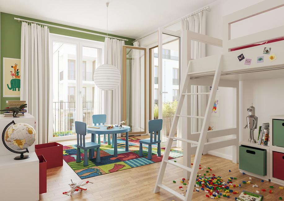 Zaunkoenige_Visu_Interior_Kinderzimmer