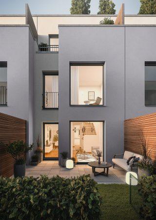 Urban Homes - gemütliche Abendstimmung © PROJECT Immobilien Wohnen AG