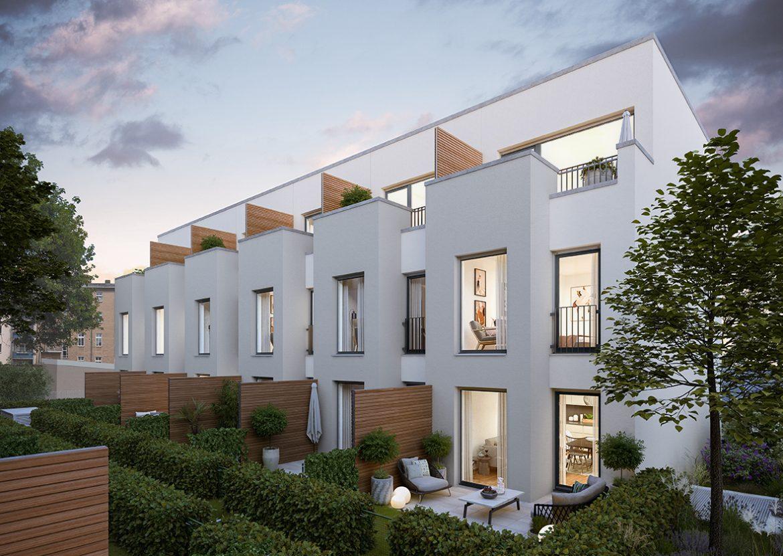 Urban Homes - eine grüne Oase © PROJECT Immobilien Wohnen AG