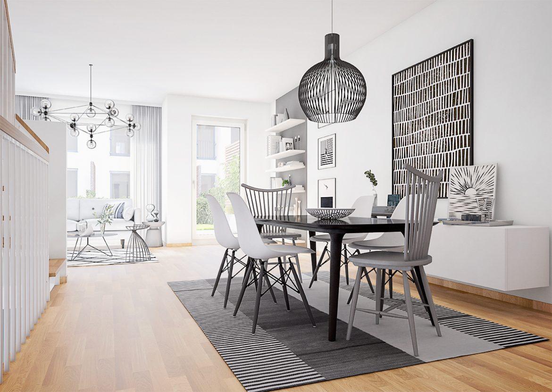 Urban Homes - Essbereich © PROJECT Immobilien Wohnen AG