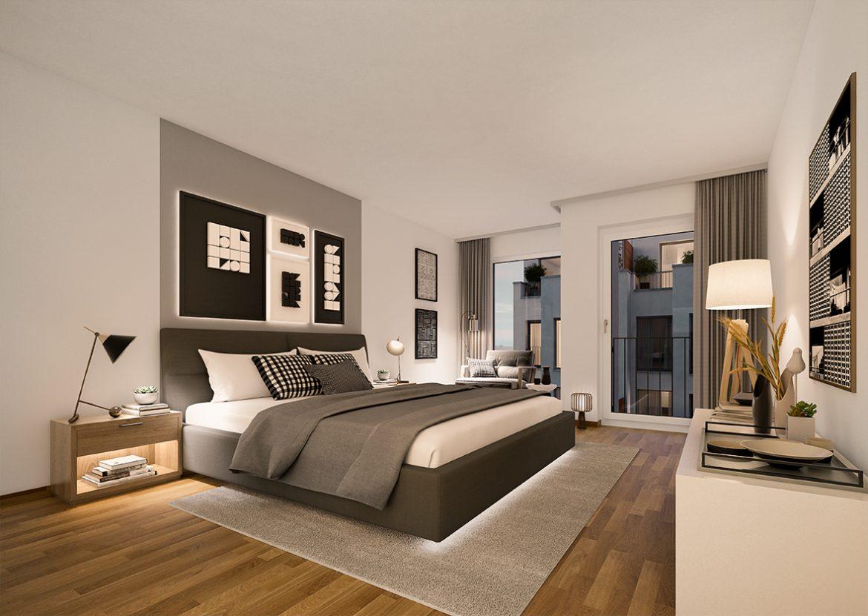 Urban Homes - Schlafzimmerträume © PROJECT Immobilien Wohnen AG