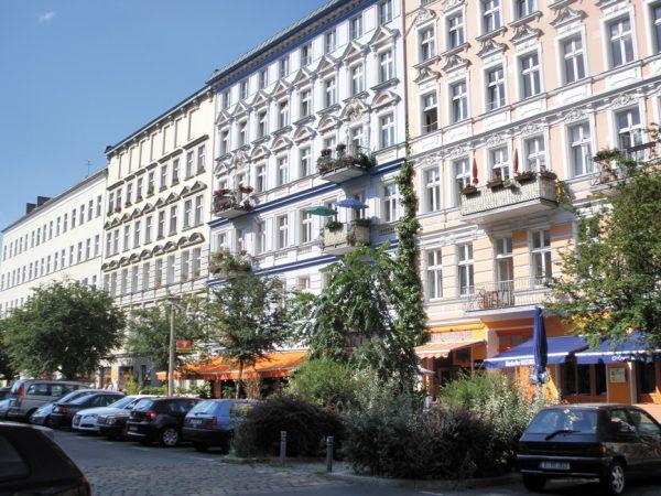 Oderberger Straße, Prenzlauer Berg © Jean-Marc Bolfing / flickr.de CC BY-SA 2.0