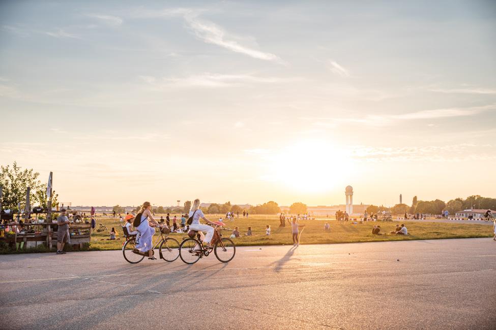 Sonnenuntergang in Berlin © PROJECT Immobilien Wohnen AG