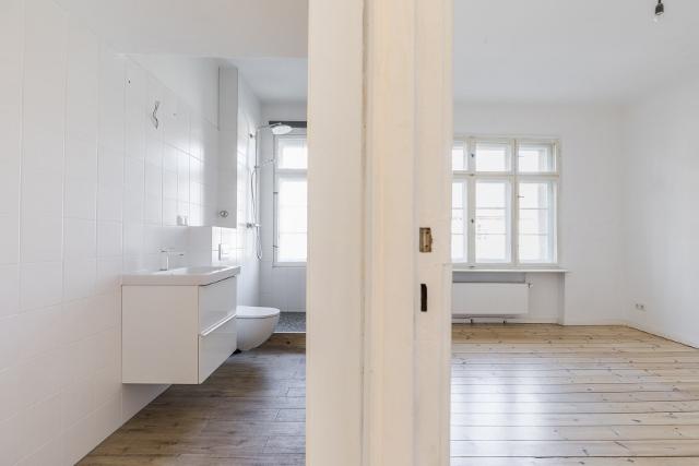 ein Blick ins Badezimmer © Dajana Lothert