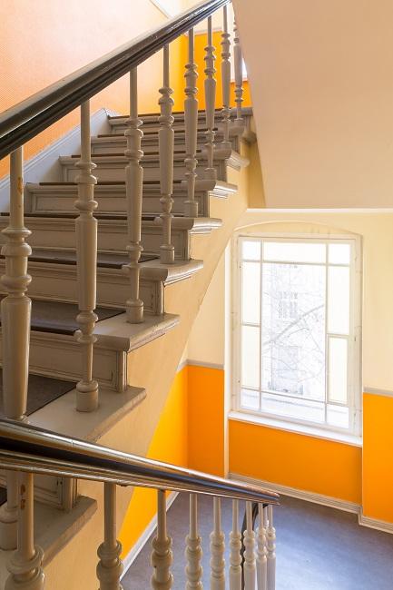 ein Blick ins Treppenhaus © Jens Boesenberg Fotografie