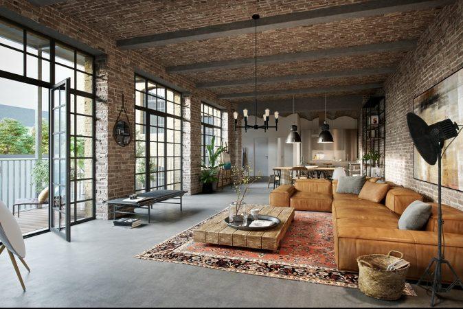 Wohnbereich © Eve Images Visualisierung