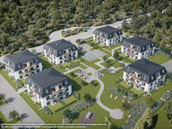 Draufsicht © PROJECT Immobilien Wohnen AG