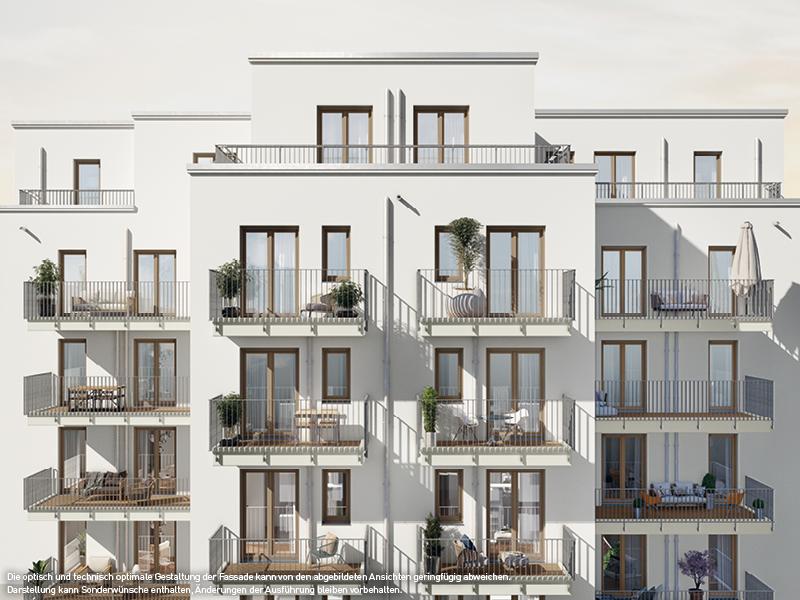 Hausansicht © PROJECT Immobilien Wohnen AG