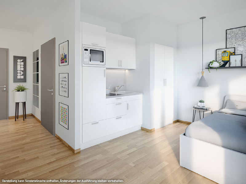 ein Blick ins Innere © PROJECT Immobilien Wohnen AG