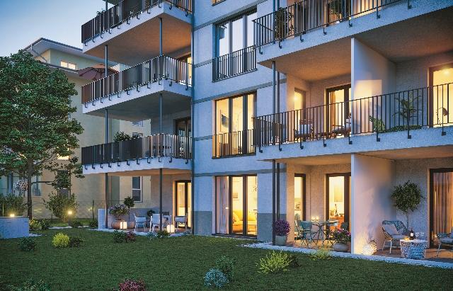 Abendansicht © First Home Wohnbau GmbH