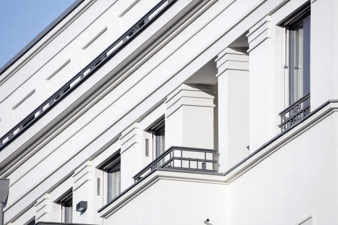 Fassade Pilaster © loeffelhardt
