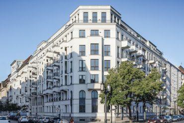 Architektur_Kaiserdamm_Straßenansicht