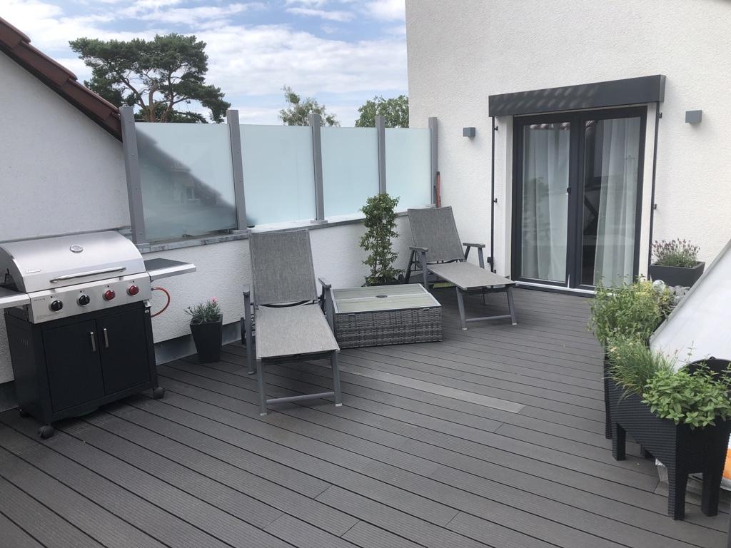 ein Blick auf die Dachterrasse © HAVELGRUND - Gesellschaft für die Betreuung von Grundbesitz mbH