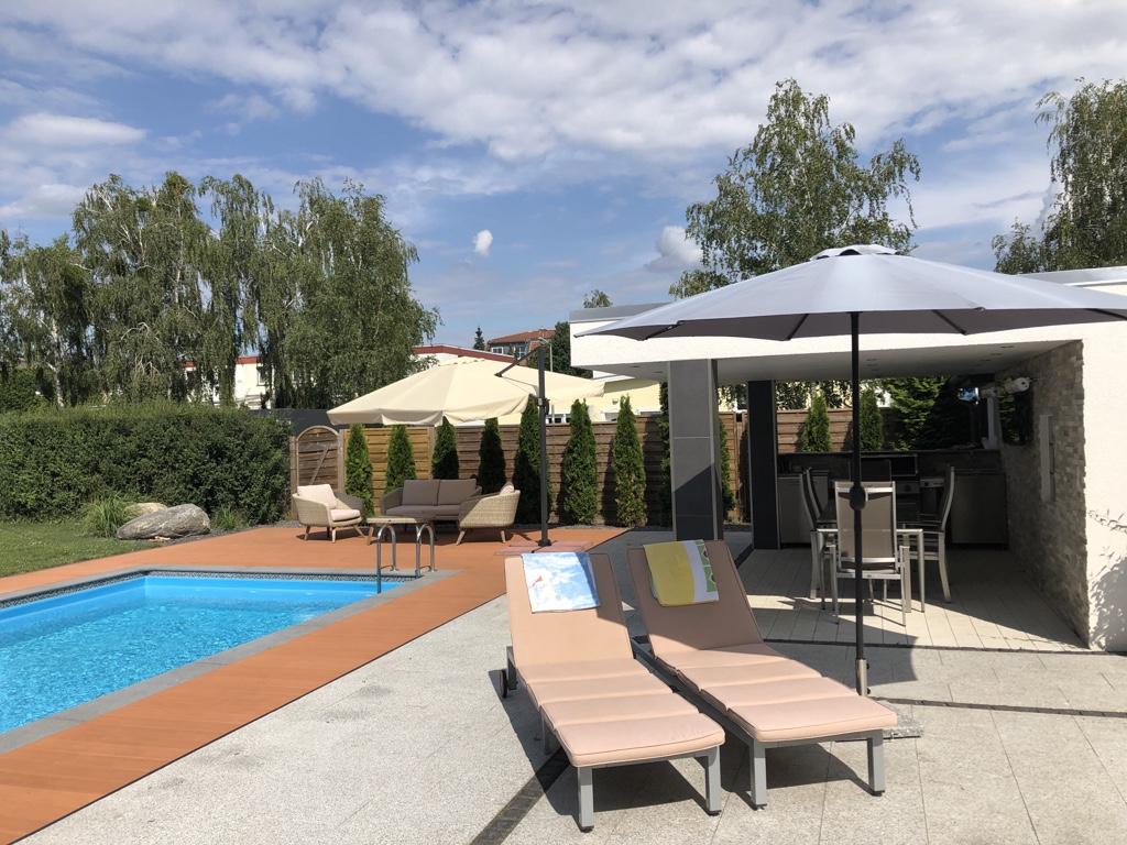 der Poolbereich © HAVELGRUND - Gesellschaft für die Betreuung von Grundbesitz mbH