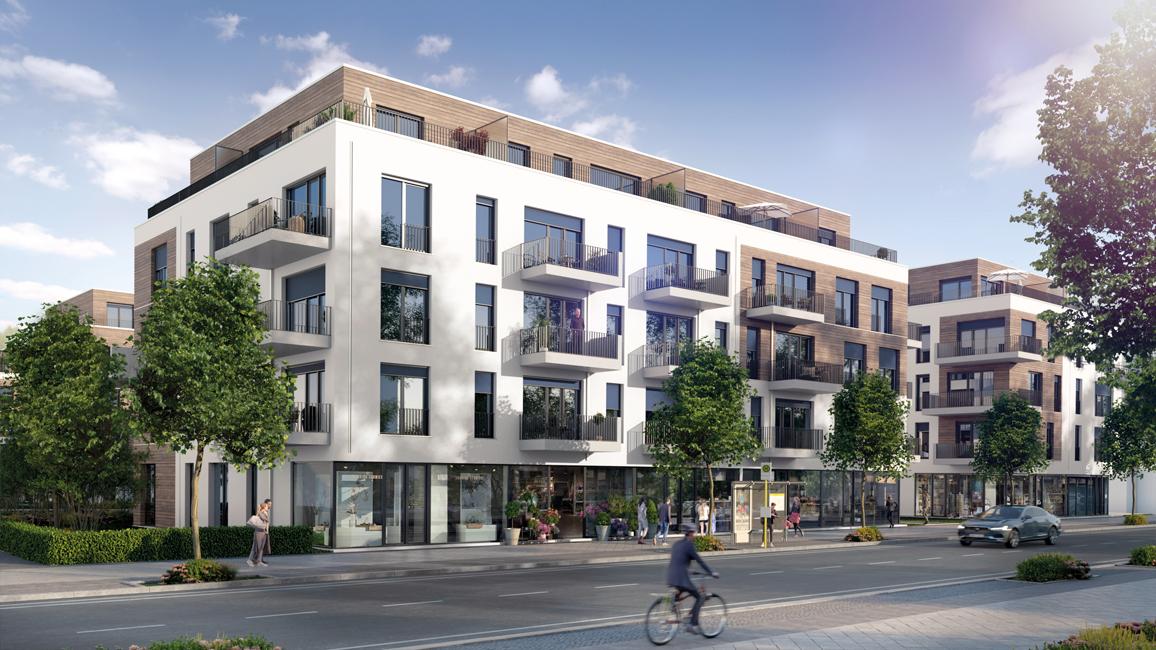 Immobilie-des-Monats_Achterdeck-Berlin_Quartierseingang Achterdeck <br>WENDENSCHLOSS AM WASSER