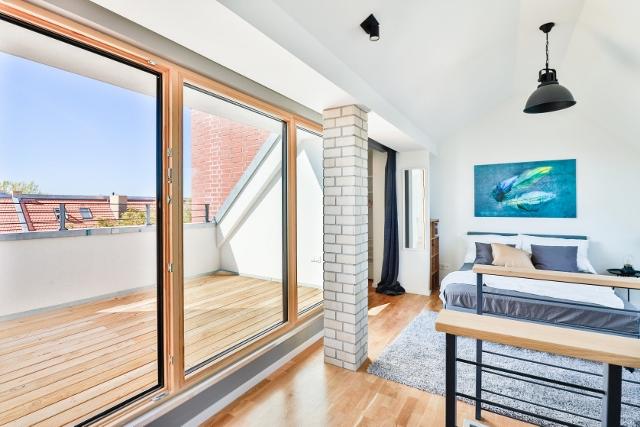 ein Blick aus dem Schlafzimmer © Christoph Neumann / ZIEGERT - Bank- und Immobilienconsulting GmbH